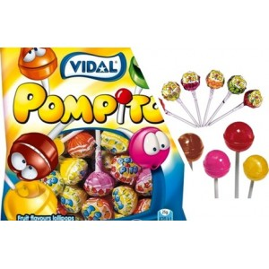 Saquetas Vidal Pompito 7und > Sg