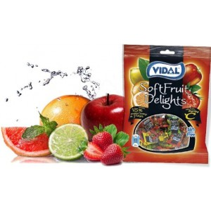 Saquetas Vidal Soft Fruit Delight 90gr